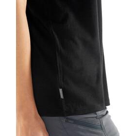 Icebreaker Tech Lite Good Stuff SS Crewe Shirt Dam black